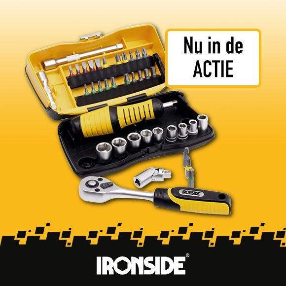 Ironside - 39-delige doppen/bitset