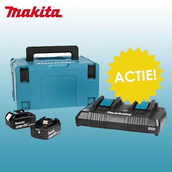 Makita lader-set 18V - 5,0 AH